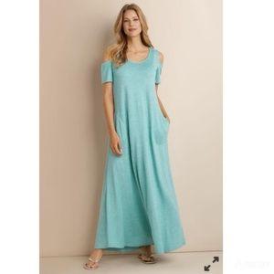 NWT Soft Surroundings Electra Maxi Dress Sz M